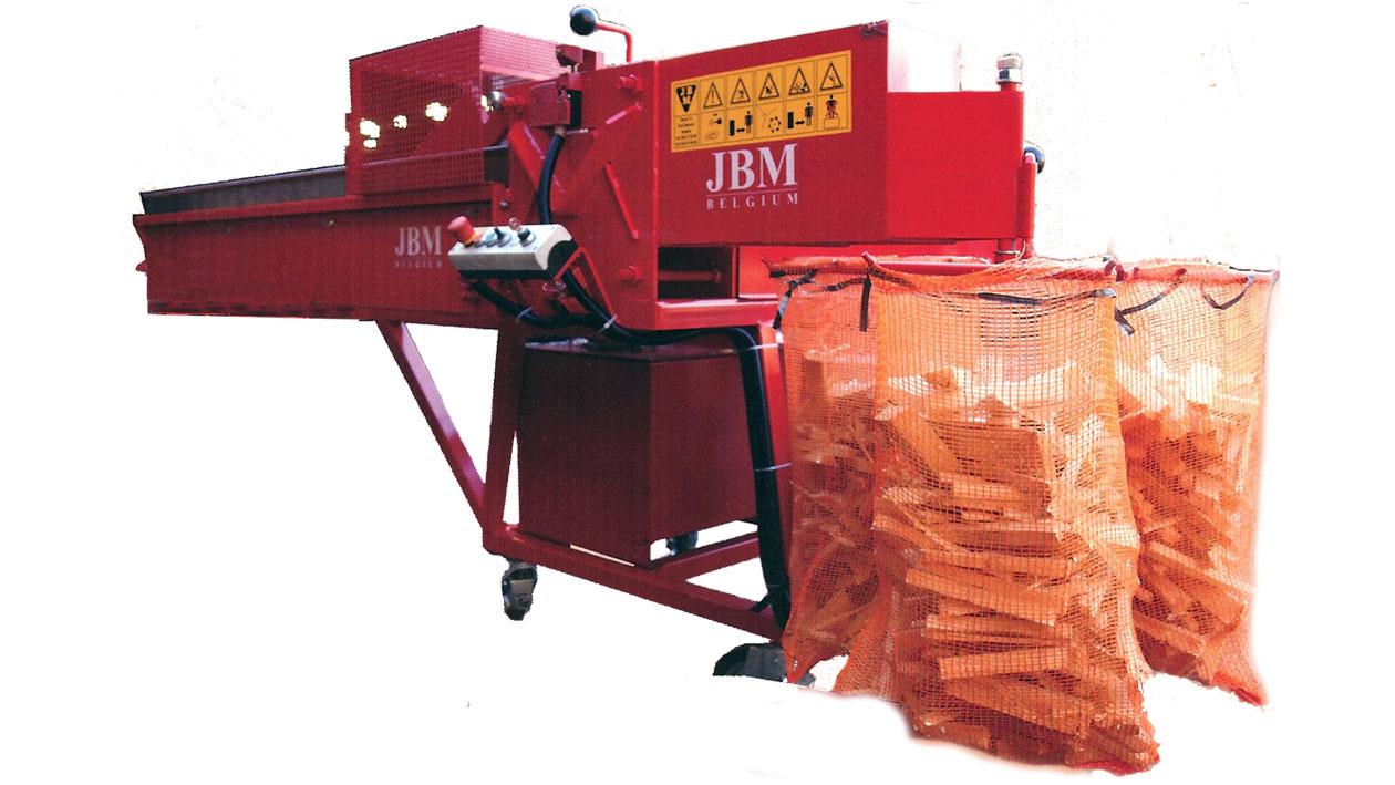 JBM Hydro Cut 200 aanmaakhoutmachine