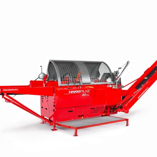 Hakki Pilke 50 PRO zaagkloofmachine firewood processor