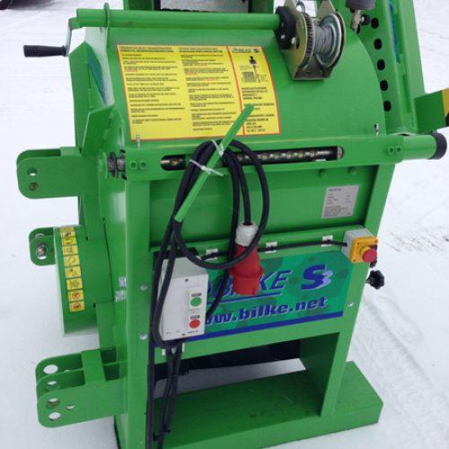 Bilke S3 knipmachine zaagkloofmachine